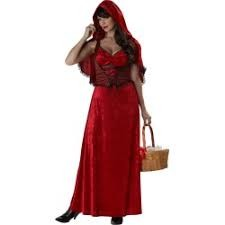 Miss Red Woman Costume L in Kuwait