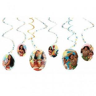 Moana Hanging Swirl Decorations Girls in Kuwait