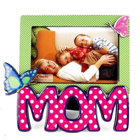MOM Butterfly Photo Frame