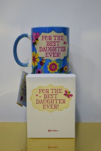Buy Mug - For The Best Daughter - Mdr-01 05 17 in Kuwait