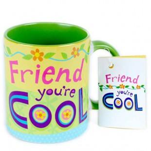 Buy Mug - Friend You're Cool in Kuwait