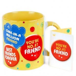 Buy Mug - You're No. #1 Friend in Kuwait