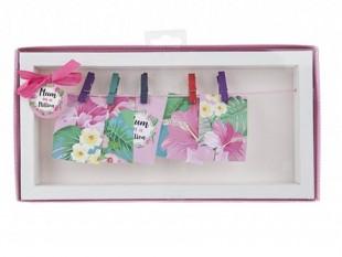 Buy Mum Hanging - Beige Photo Frame Window Box in Kuwait