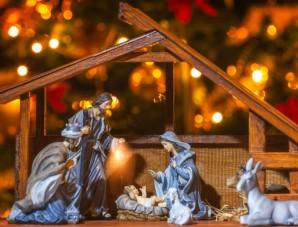 Nativity Scene in Kuwait
