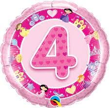 No.4 Pink Balloon in Kuwait