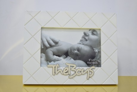 Photo Frame - The Boys White