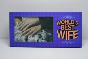 Buy Photo Frame - World's Best Wife in Kuwait
