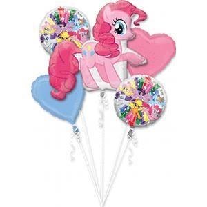 Pinkie Pie 5 Foil Balloons Bouquet  in Kuwait