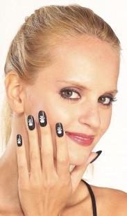 Pirate Print Nails in Kuwait