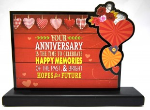 Buy Plaque Your Anniversary in Kuwait