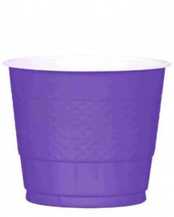 Plastic Cups - New Purple in Kuwait