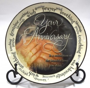 Buy Plate Quotation - Your Anniversary in Kuwait