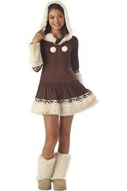 Polar Princess Costume Teen 12-14 in Kuwait
