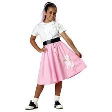Poodle Skirt Girl 4-6 in Kuwait