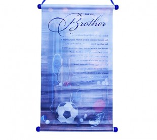 Buy Poster Scroll - Brother in Kuwait