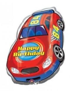 Racing Car Happy Birthday Foil Balloon in Kuwait