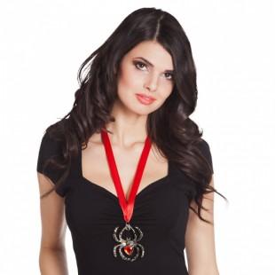 Ruby Spider Necklace in Kuwait