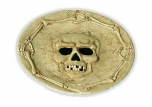Scarybones Chess Plate in Kuwait