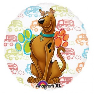 Scooby-doo See-thru All Occasion – Foil Balloon in Kuwait