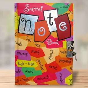 Buy Secret Note Exercise Book in Kuwait