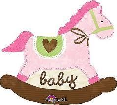Buy Shaped Baby Girl Rocking Horse in Kuwait