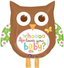 Buy Shaped Owl Whoooo Loves You Baby?  in Kuwait