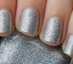 Silver Glitter Nail Polish in Kuwait