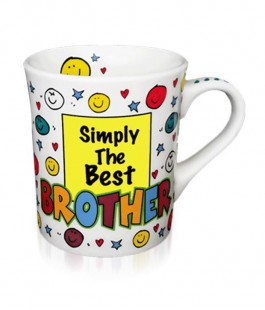 Buy Simply The Best Brother - Mug in Kuwait