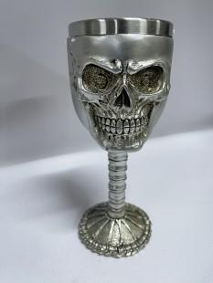 Skull Face Goblet Wine Glass in Kuwait