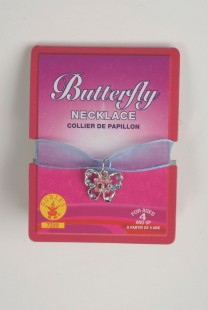 Small Butterfly Charm Necklace in Kuwait