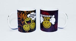 Buy Smiley Mug Thumbs Up in Kuwait