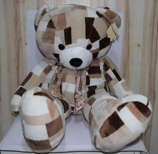 Buy Soft Toy Disco Bear Brown L in Kuwait