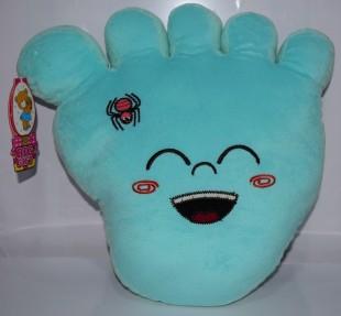 Buy Soft Toy Foot Print Cushion 16