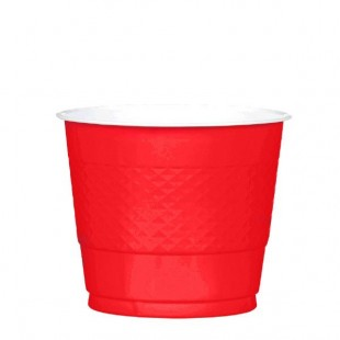 Solid Color Cups - Red in Kuwait