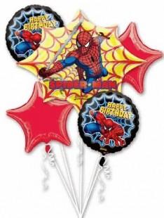 Spiderman Balloon Bouquet in Kuwait