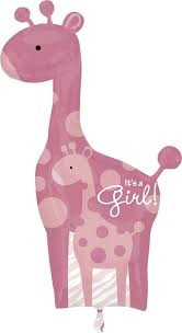 Buy Super Shape Giraffe It's A Girl in Kuwait