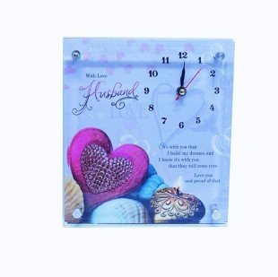 Buy Table Clock - Husband in Kuwait