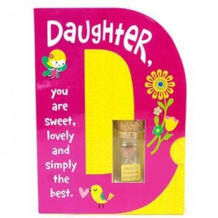 Buy Teddy In Glass Bottle - Daughter in Kuwait