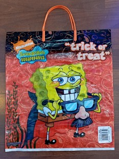 Trick Or Treat Bag - Spongebob in Kuwait