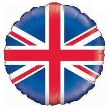 United Kingdom Flag Foil Balloon in Kuwait