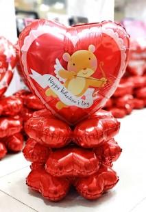 Valentine Balloon Centerpiece in Kuwait