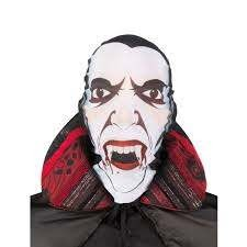 Vampire Count Dracula Hooded Face Mask in Kuwait