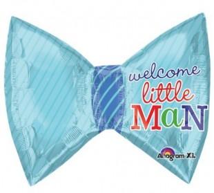 Buy Welcome Little Man Foil Balloon in Kuwait