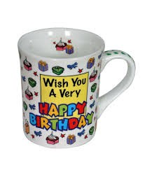 Buy Wish You A Very Happy Birthday Mug in Kuwait