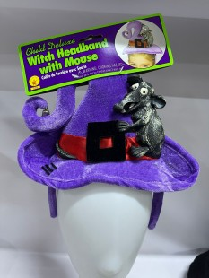 Witch Hat Headband With Mouse in Kuwait