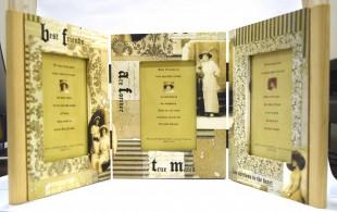 Buy Wooden 3 Frame - Best Friends in Kuwait