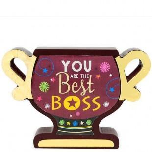 Buy Wooden Trophy Boss in Kuwait