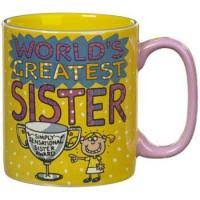 Buy World's Greatest Sister - Mug in Kuwait