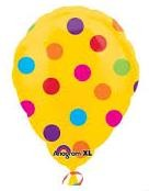 Yellow Oval Polka Dots 181600 in Kuwait