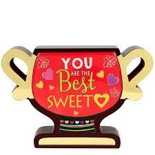 Buy You Are The Best Sweet Trophy in Kuwait